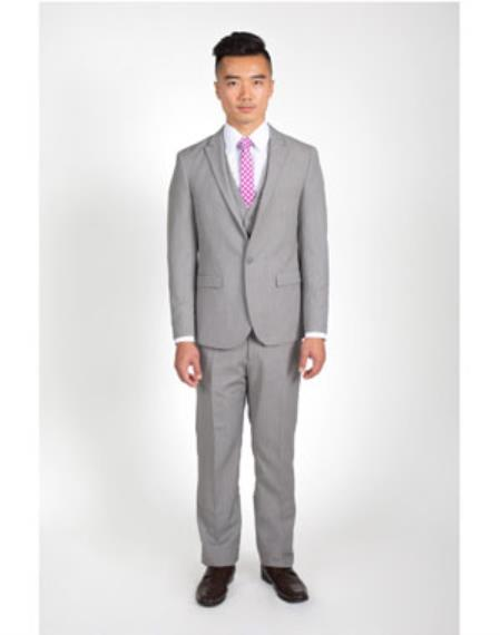 Mens Heathered Grey 2
