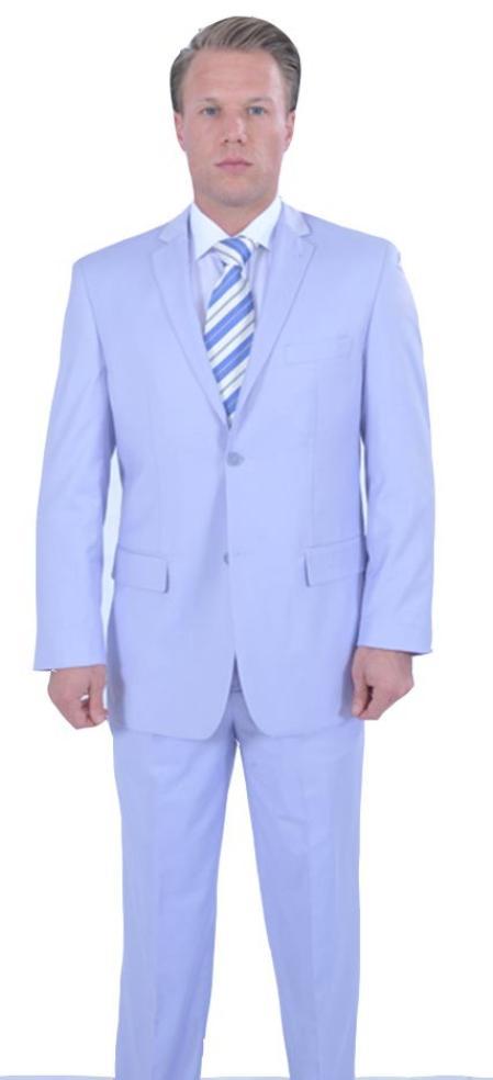 JA782 Reflective Stripes 3pc Zoot Suit Set - Lilac