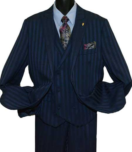 Mens Navy Blue Peak