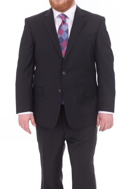 Mens Portly Fit Two