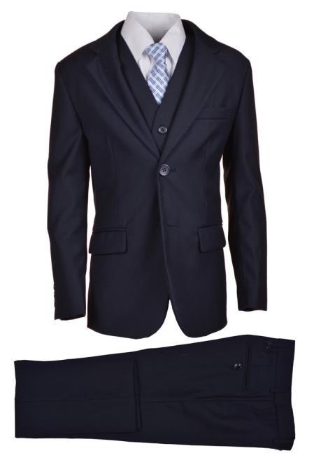 Husky Navy Boys Suit