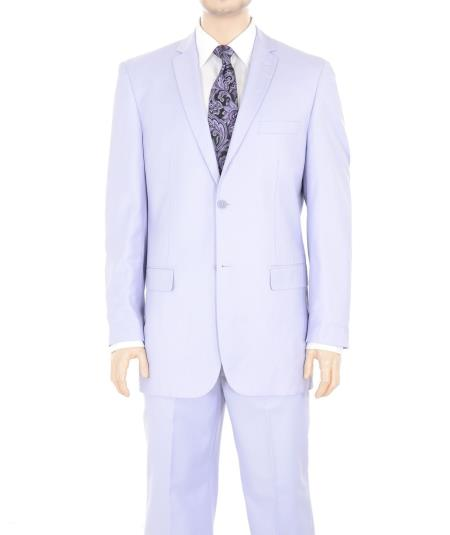 Two Button Suit Solid
