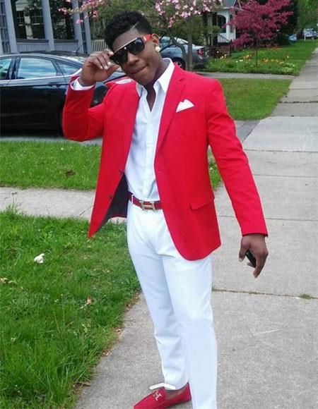 Red & White Prom
