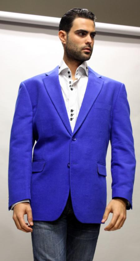 Product# BK7745 Royal Sport Coat It's One of a Kind Superior Fabric 150's For All Occasion Velvet Fabric