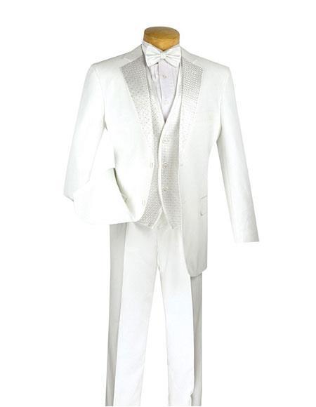 Mens Fashion White 2