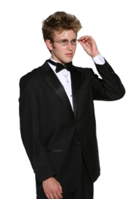 Product# JD2323 2 Button Style Superior Fabric 140s Merino Wool Fabric formal tux Jacket + any size pants (tuxedo separate)