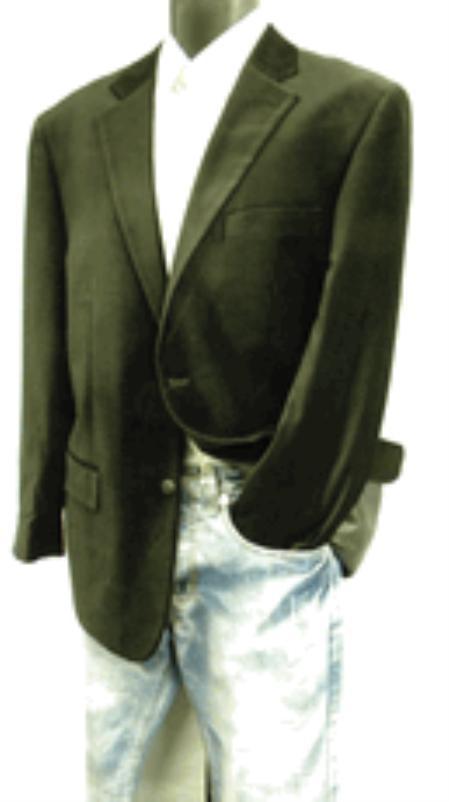 2 Button Style Velvet