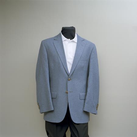 2 Button Style Blazer Online Sale Cambridge Grey with brass buttons sportcoat