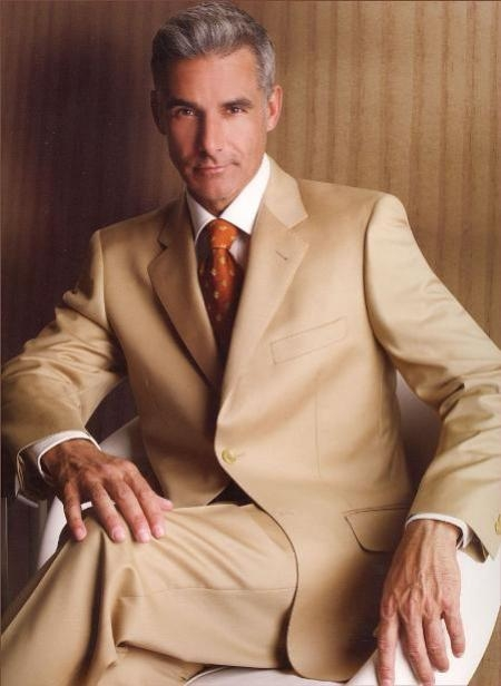 Solid Camel ~ Khaki~Bronz Quality Suit Separates, Total Comfort Any Size Jacket&Any Size Pants