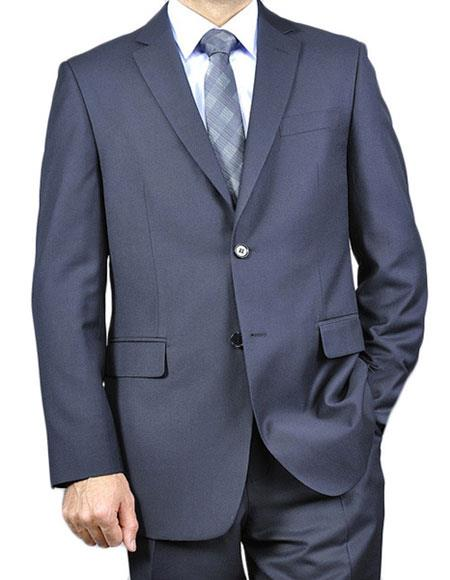 Mens Classic Two Buttons