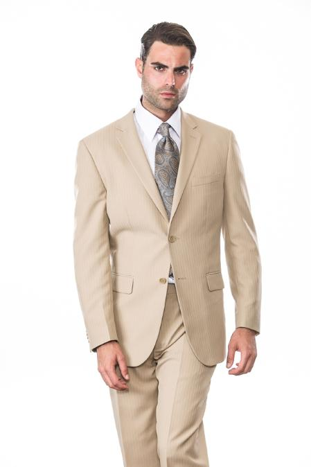 Product# KA1234 2 Button Style Superior Fabric 150's Extra Fine Suit