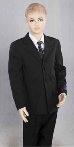 3 Button 2 Piece Notch Lapel Boys Dress Formal Boys And Men Suit Set perfect for wedding