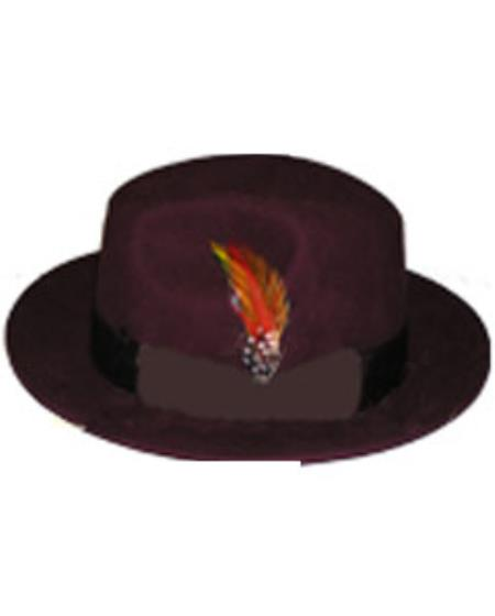 Untouchable Burgundy Hat
