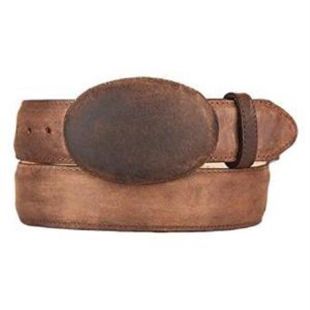 Walnut Original Leather Western
