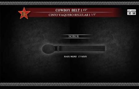 "Cowboy Exotic Belt 15"""
