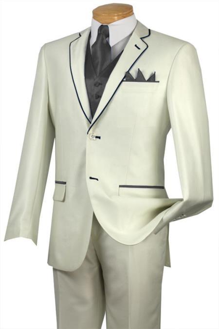 Tuxedo Dark Grey Masculine