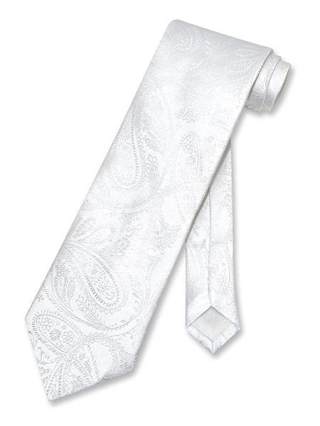 Mens Paisley Pattern Polyester
