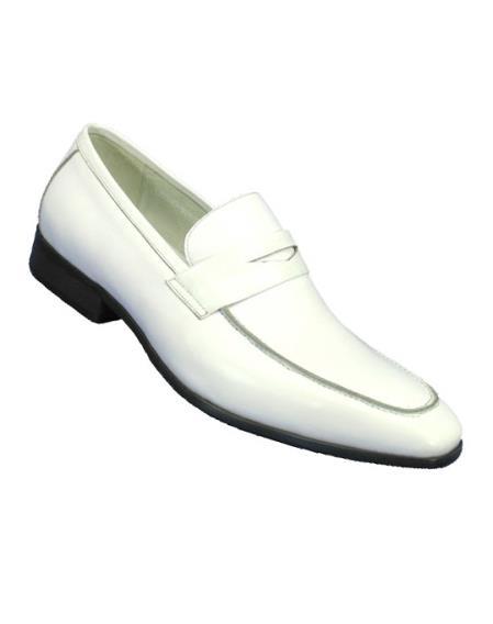 White Mens Fashionable Slip