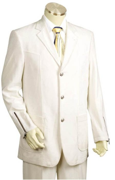 SD2213 3 Buttons Style Suit Style Comes in White