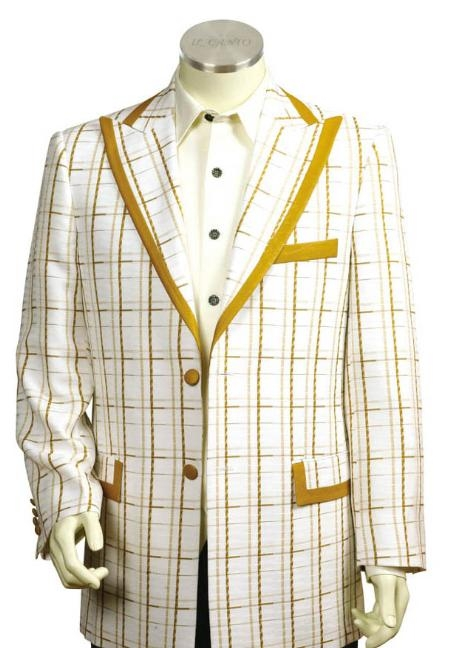3 Buttons Style Suit