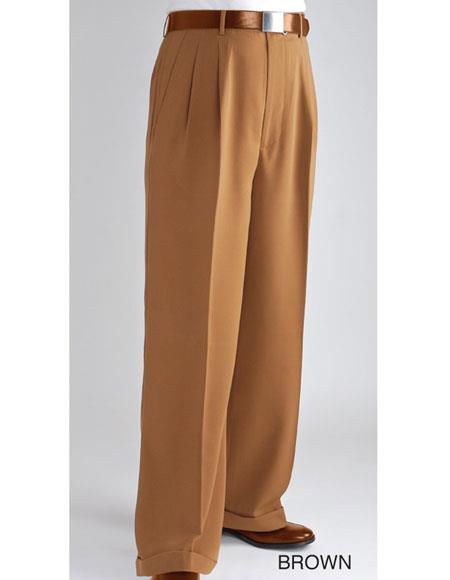 Mens Wide Leg Pants