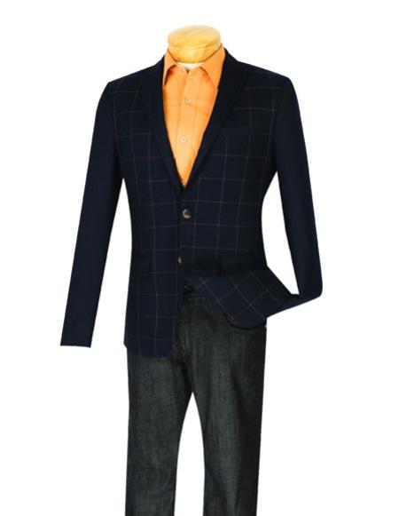 Mens Plaid ~ Windowpane