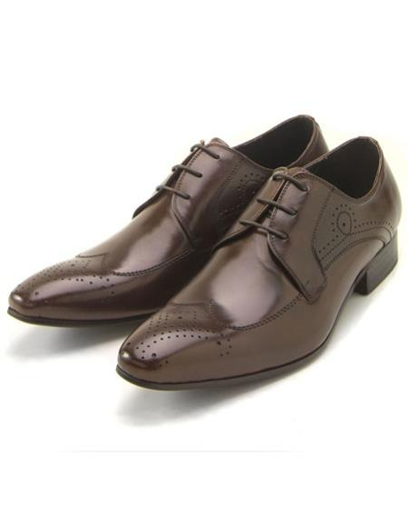 Mens Classic wingtip style