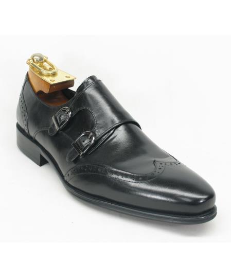 Mens Fashionable Wingtoe Black