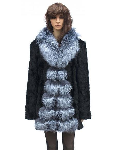 Fur Full Length Black