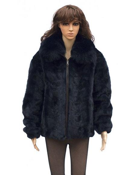 Fur Blue Mink Front