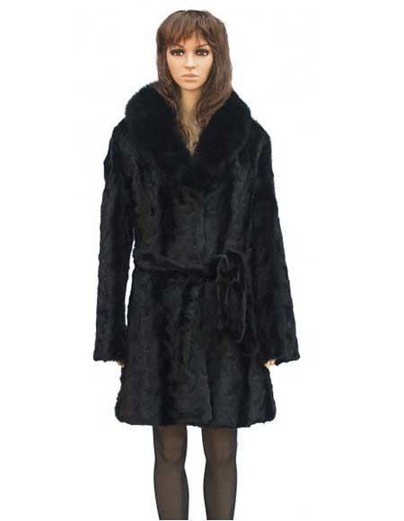 Fur Black Mink Front