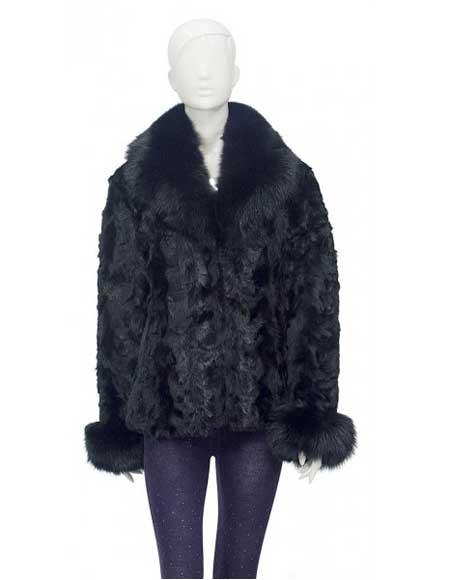 Fur Black Genuine Pieces