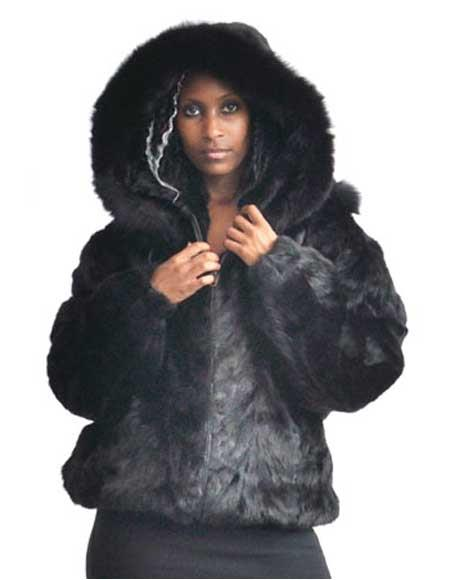 Fur Black Pieces Genuine