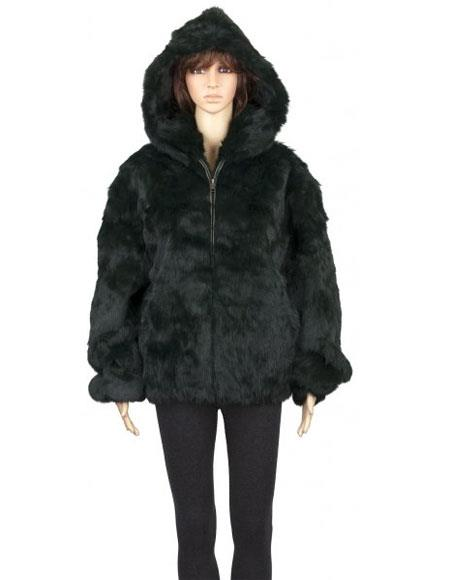 Fur Genuine Green Full