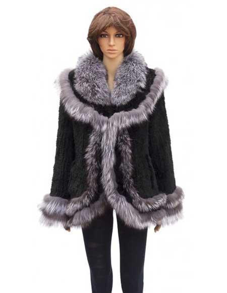 Fur Silver Fox Trimming