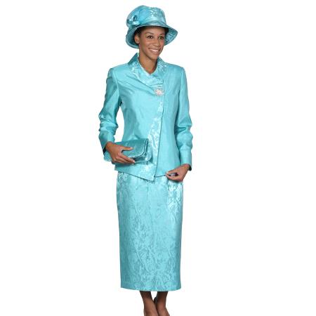Wo Dress Set turquoise