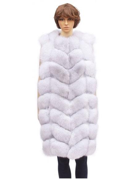 Fur White Fox Full