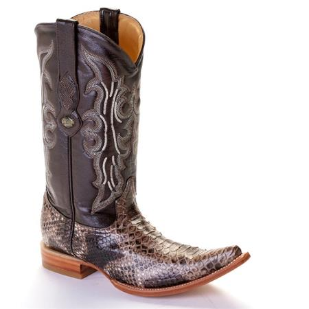 Product#VK21 XXX-Toe Python ~ Snake Western Cowboy Boots by Authentic Los altos