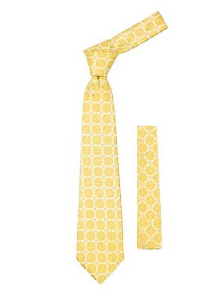 Floral Design Fashionable Yellow