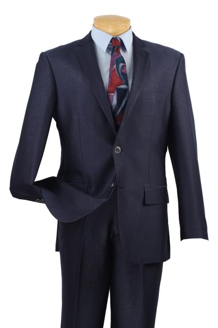 KA9312 Single Breasted 2 Buttons, Slim narrow Style Fit Suits