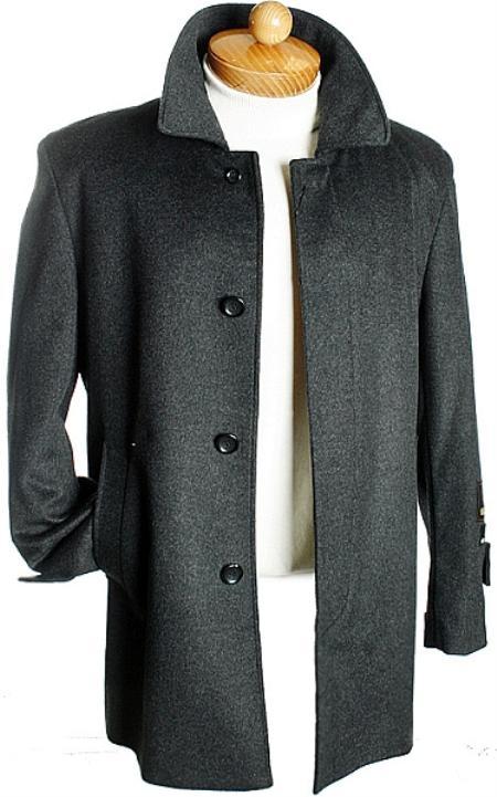 Black Overcoats Wool Overcoat Long Overcoat Topcoat