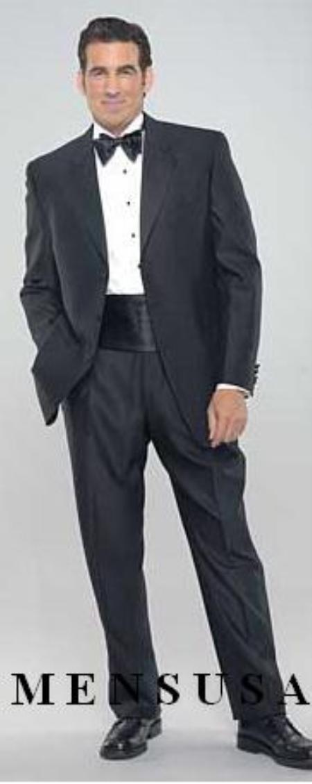 Sku mu78 black 3 button tuxedo super 140 39 s wool jakcet pa for Tuxedo shirt black buttons