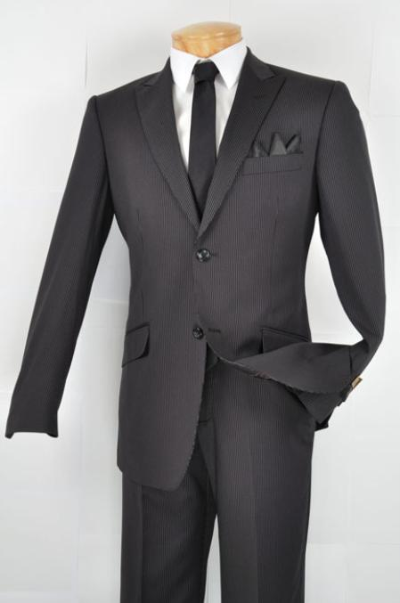 slim fitting suits for men, slim fitted suits, Black suits