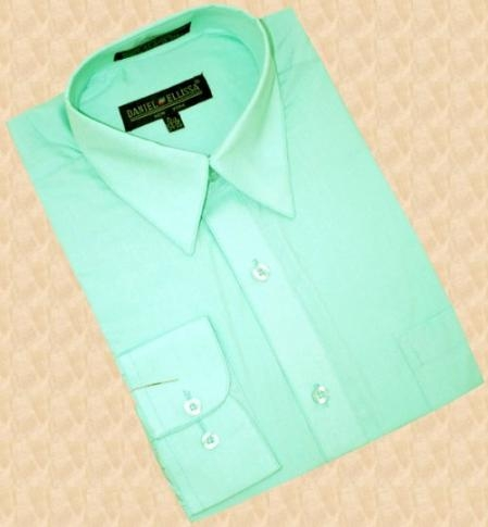 Green shirt and tie, Shirt & tie combos, Mint dress shirt