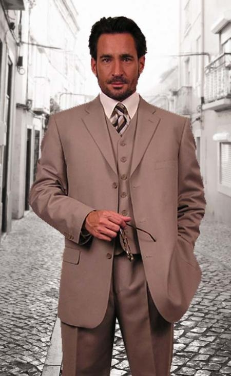 3 Piece and Vested suits