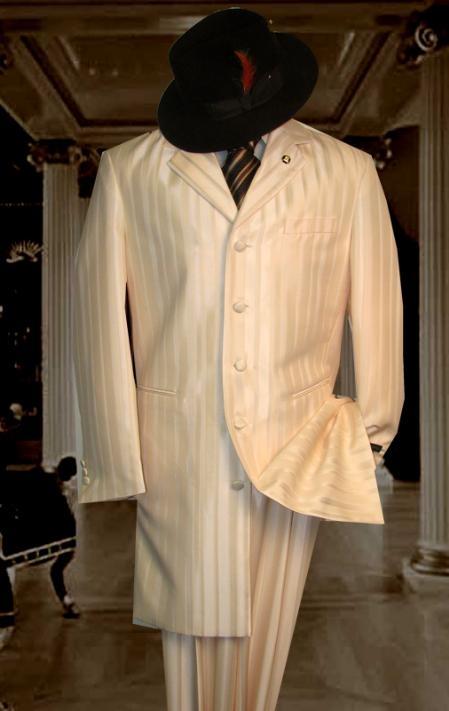 Pinstripe zoot Suit