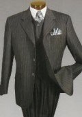 Pinstripe suit $159