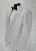 Breasted Notch Lapel White