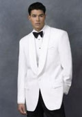 White Dinner Jacket 100%
