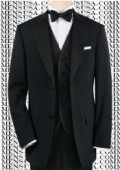 Black Tuxedo 1or2or3or4 Button